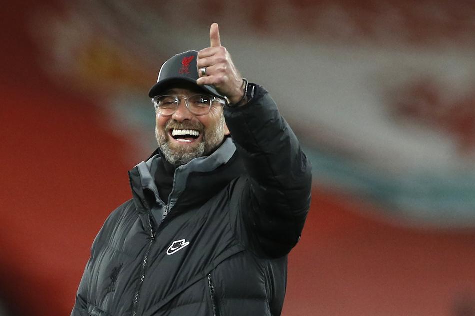 Liverpool-Coach Jürgen Klopp (53) imponiert HSV-Trainer Daniel Thioune mit seiner Art. (Archivfoto)