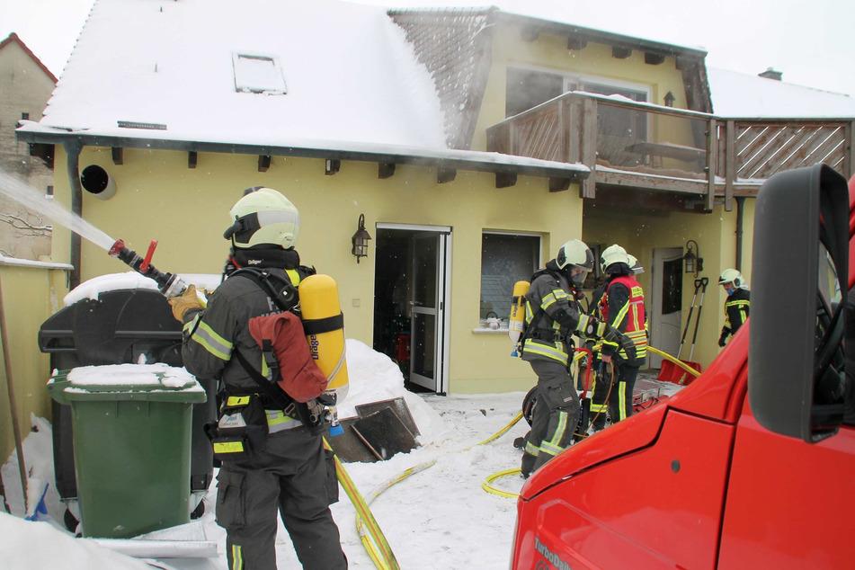 In der Dorfstüb'l-Küche brach ein folgenschwerer Brand aus.