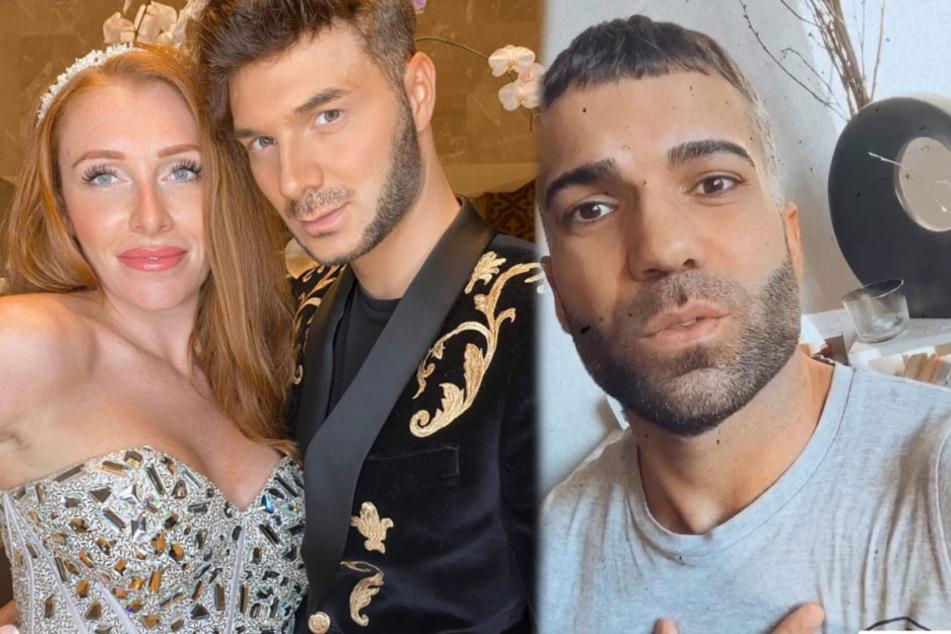 Rafi Rachek (30) hat in einer Instagram-Story gegen seinen Freund Sam (29) und Georgina Fleur (30) gewettert. (Fotomontage)
