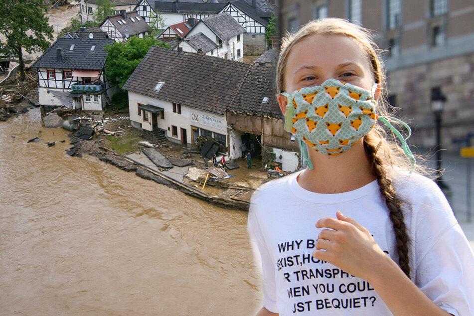 Greta Thunberg: Hochwasser-Katastrophe in Deutschland: Greta Thunberg hat dazu eine klare Meinung