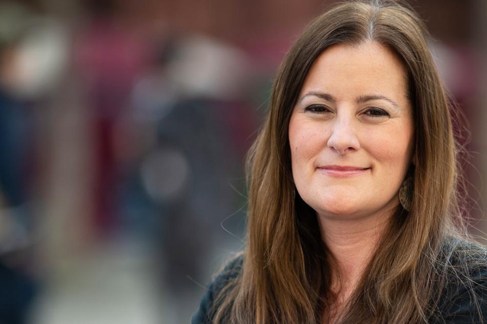 """Janine Wissler (39) ist seit Ende Februar Bundesvorsitzende der Partei """"Die Linke"""". Sie strebt einen Sitz im Bundestag an."""