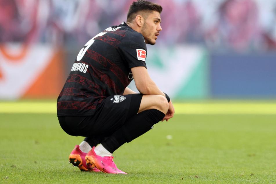 Für Konstantinos Mavropanos (23) ist die Saison wohl beendet.