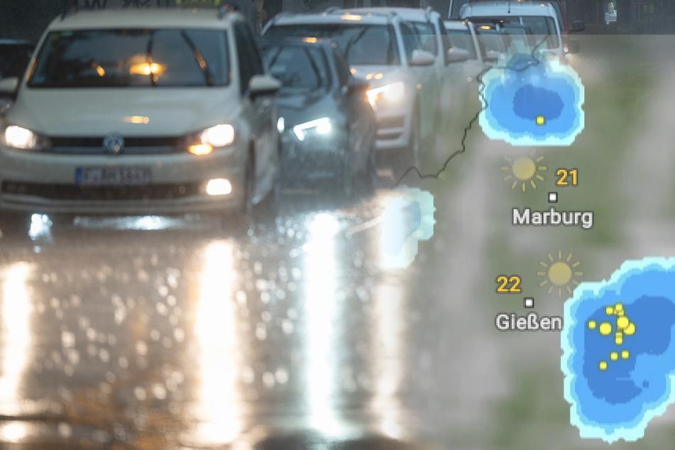 Gewitter und Unwetter mit extremem Starkregen bis zum Wochenende