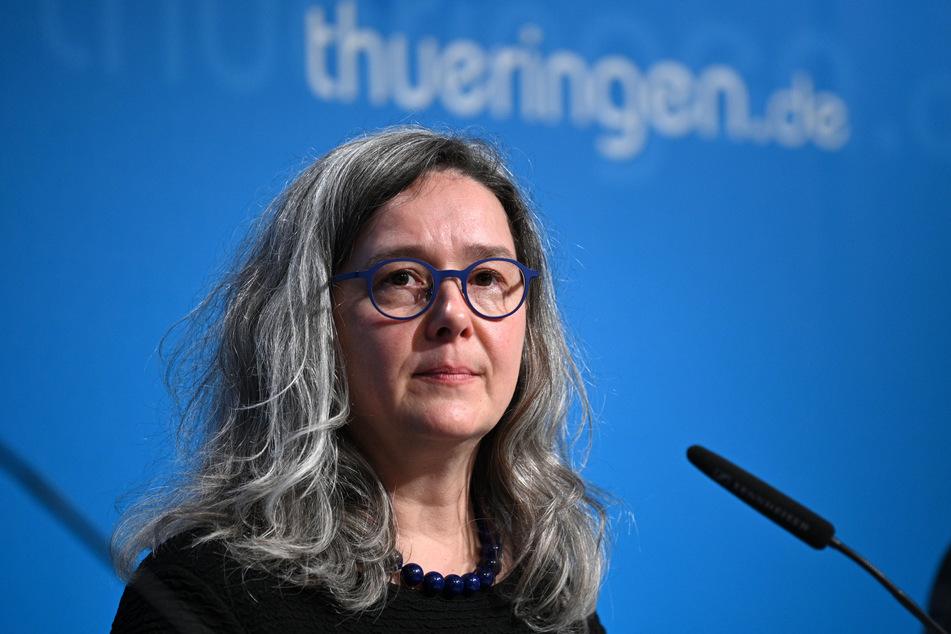 Heike Werner (51, Die Linke), Gesundheitsministerin von Thüringen. (Archivbild)