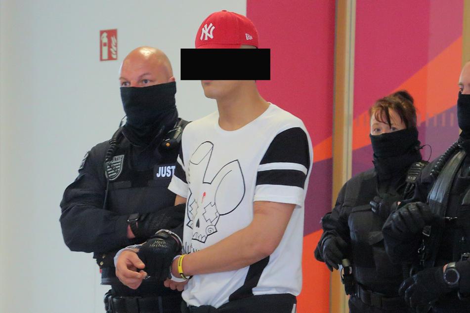 Ammar S. (23) im Amtsgericht am Dienstag.