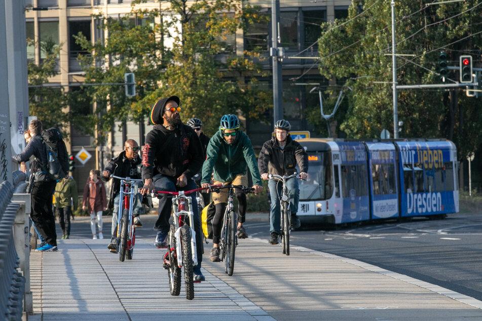 Bahne frei! Das neue System soll auch Radlern an Kreuzungen den Weg freimachen, wo das möglich ist.