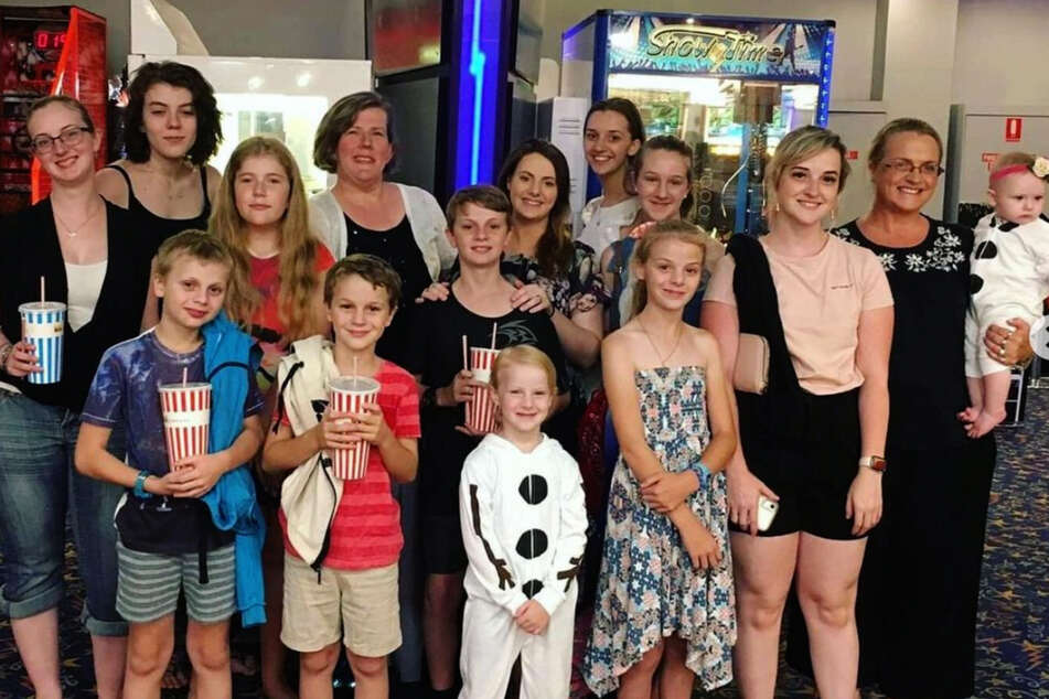 With 16 children, the Bonells are Australia's largest family.