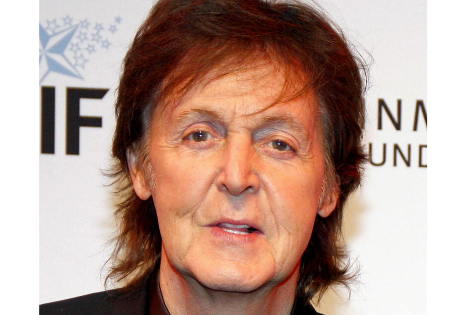 Paul McCartney in L.A. in 2013.