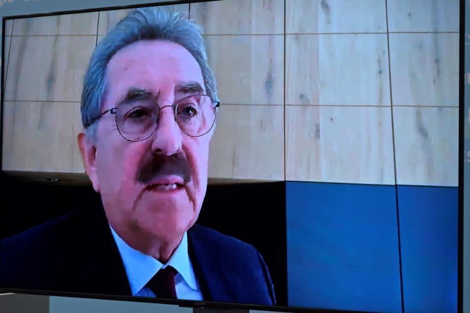 Der Präsident des Handelsverbandes Deutschland (HDE), Josef Sanktjohanser.