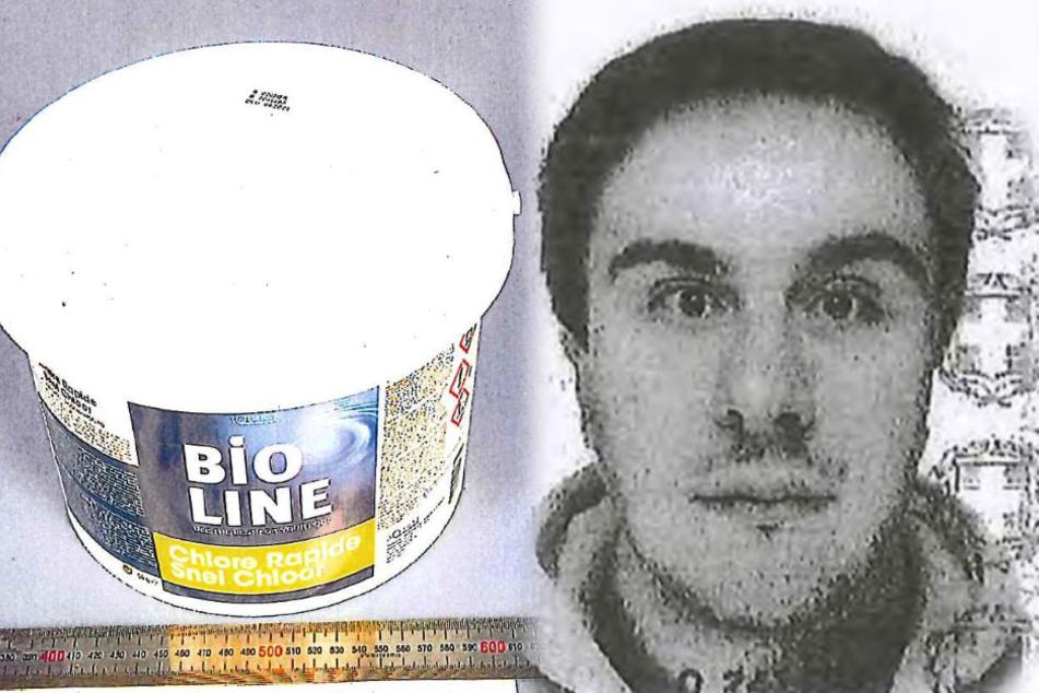Drogen als Poolreiniger getarnt: Wer erkennt diesen Mann?