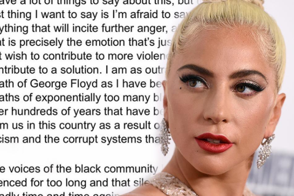 Lady Gaga beschimpft Trump öffentlich als Narren und Rassisten