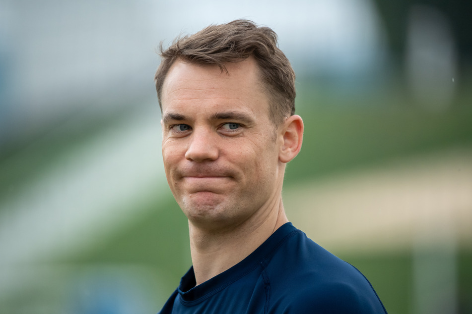 Torwart Manuel Neuer (34) spielt noch mindest bis 2023 für den FC Bayern München.