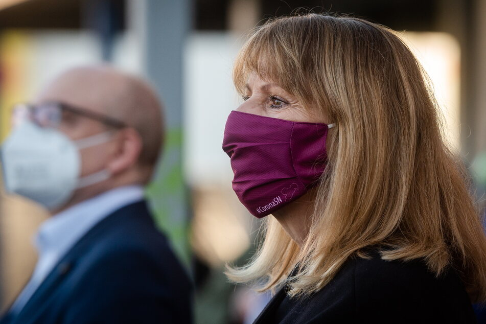 Sachsens Gesundheitsministerin Petra Köpping (62, SPD) bittet um Unterstützung der Bevölkerung.
