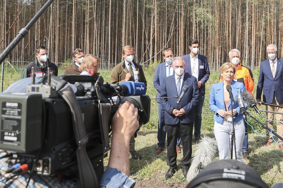 Nationaler Waldgipfel: Julia Klöckner kündigt Klima-Prämien für Waldbesitzer an