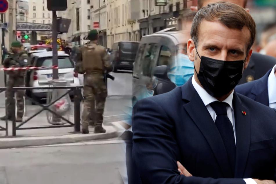 Weitere Messer-Attacke in Paris: Mann geht auf Polizist los!