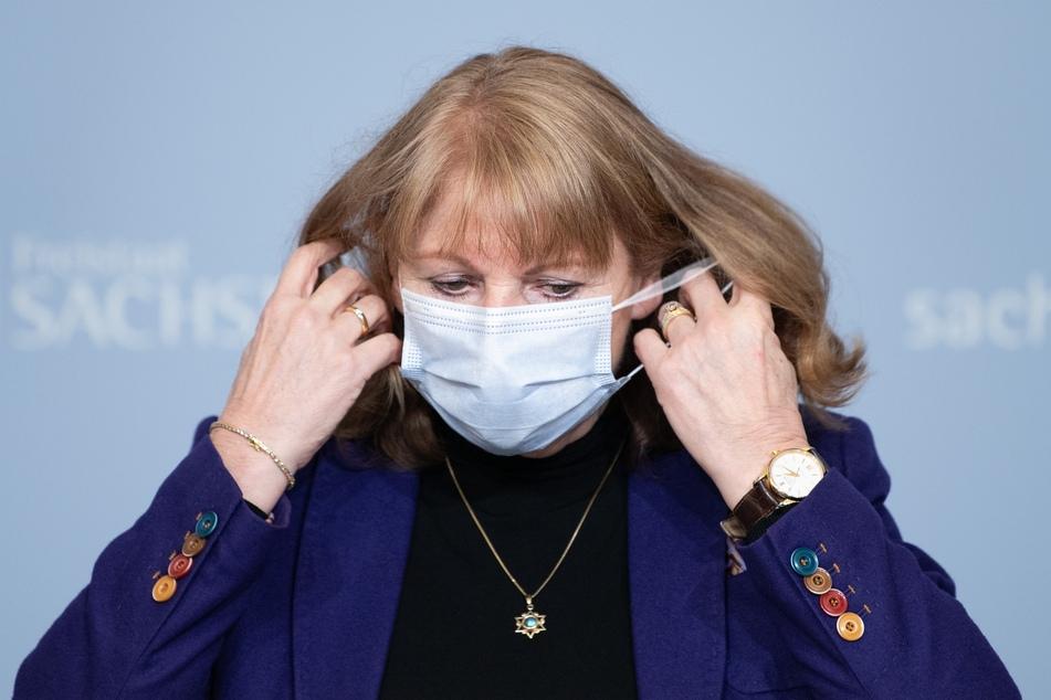 Sachsens Gesundheitsministerin, Petra Köpping (62, SPD), bittet die Menschen darum, ihre Kontakte gering zu halten.