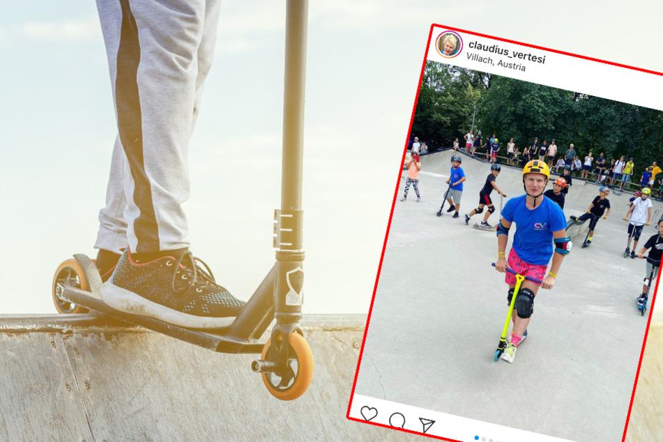 Jetzt droht ein Bußgeld: Youtuber Vertesi bekommt wegen geplantem Skate-Auftritt mächtig Ärger