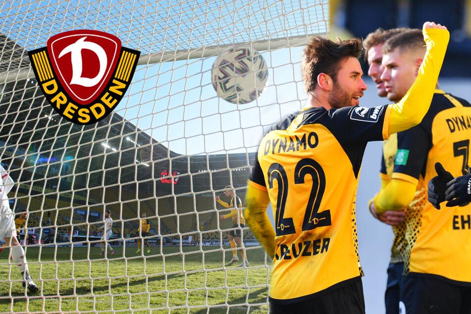 """Dynamo-Rückkehrer Kreuzer strahlt nach gelungenem Comeback: """"Ein kleines Träumchen"""""""