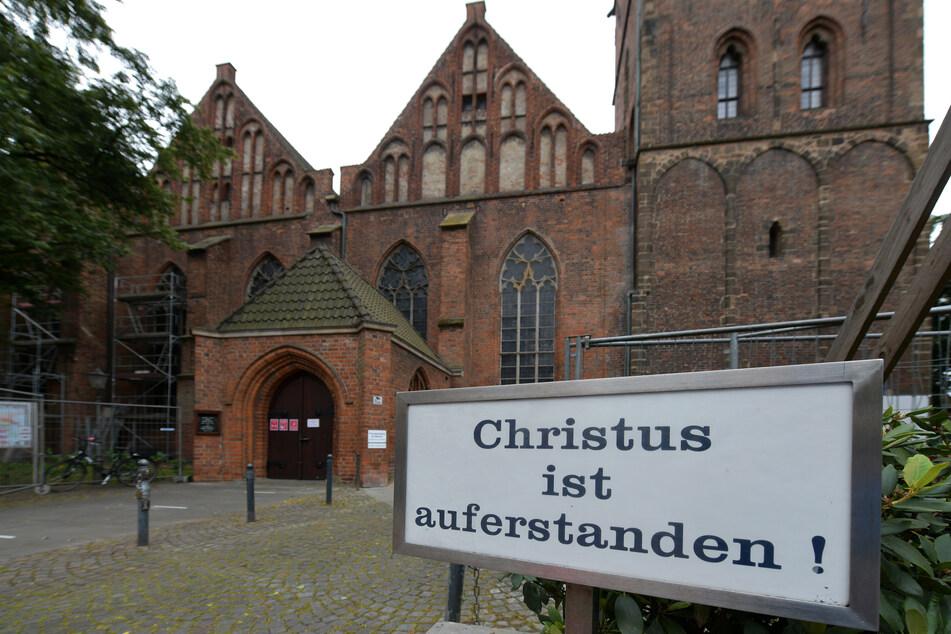 Die St. Martini Kirche in Bremen.