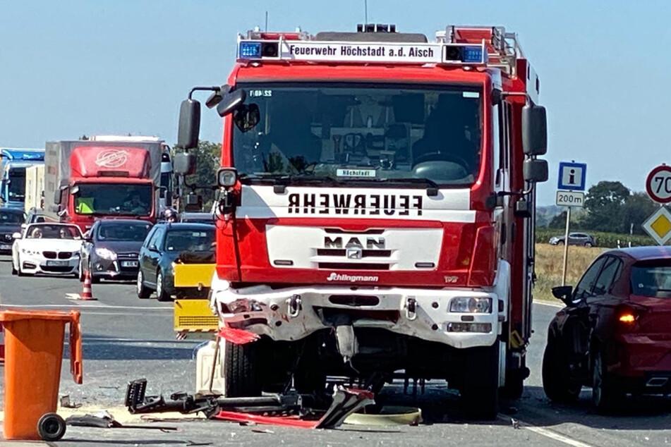 Die Schuldfrage muss erst noch geklärt werden, teilte die Polizei nach dem Unfall mit.