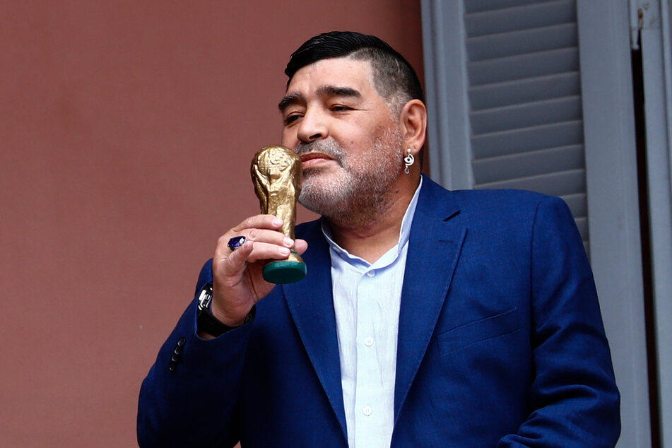 Diego Maradona starb am Mittwoch im Alter von 60 Jahren.