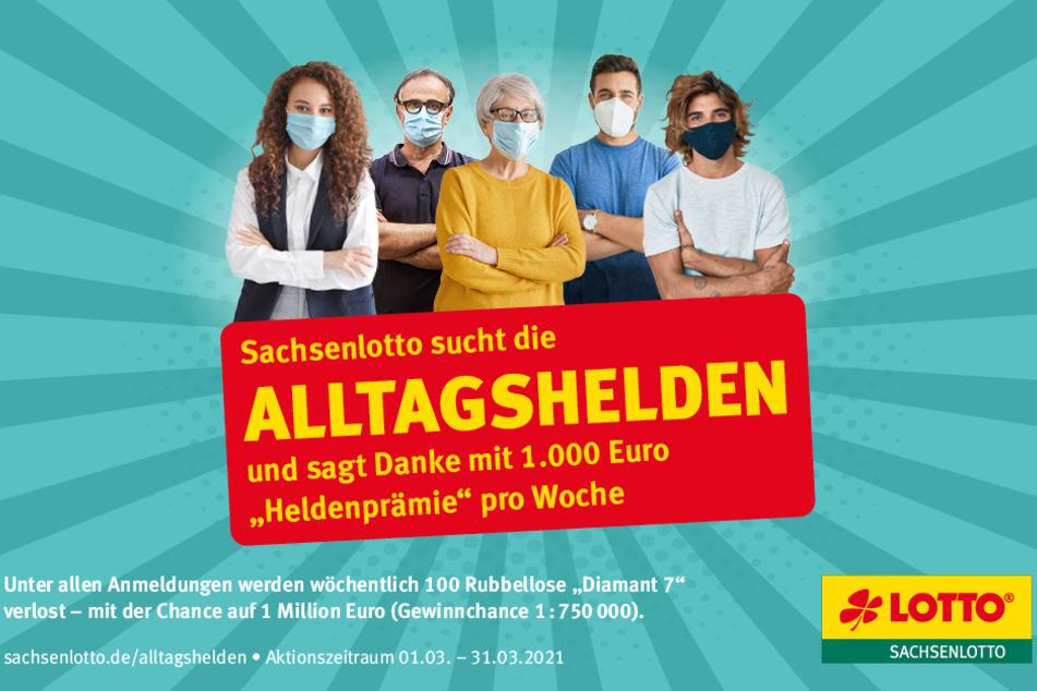 Hier werden fünf Wochen lang je 1.000 Euro verschenkt