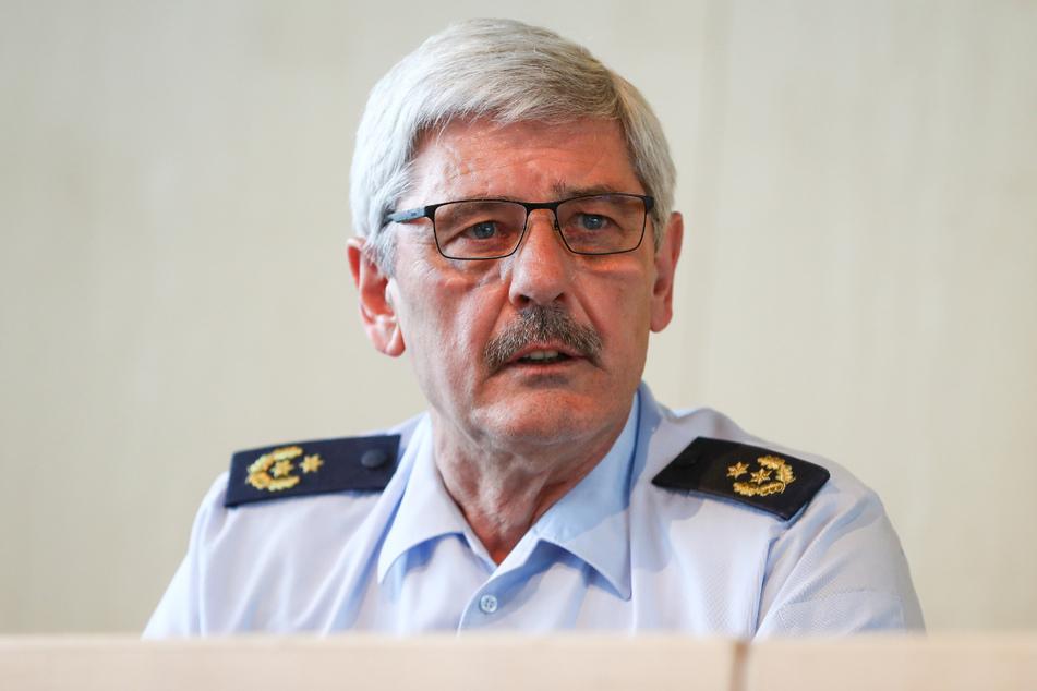 Polizeipräsident Franz Lutz ist im Fokus.