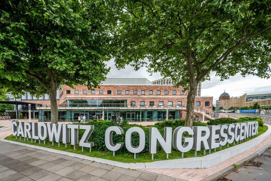 Das neue Tagungszentrum in der Chemnitzer City.