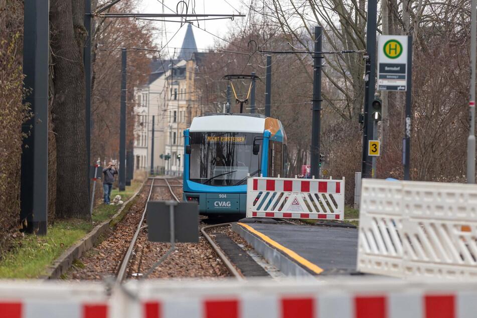 Wer zwischen Bernsdorf und Zentrum mit der Tram fährt, muss sich auf Änderungen einstellen.
