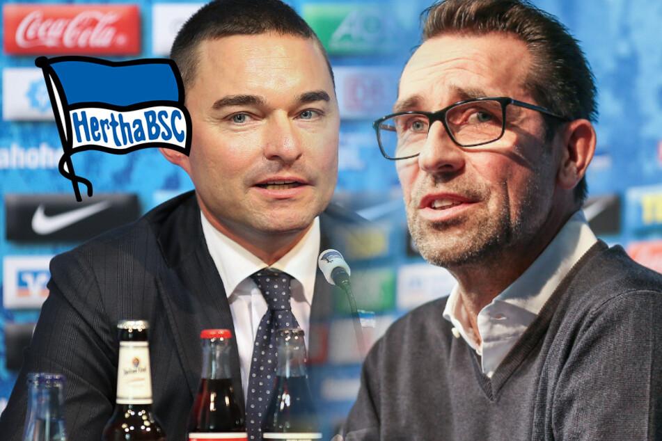"""Hertha-Manager Preetz räumt """"kommunikative Irritationen"""" mit Windhorst ein"""