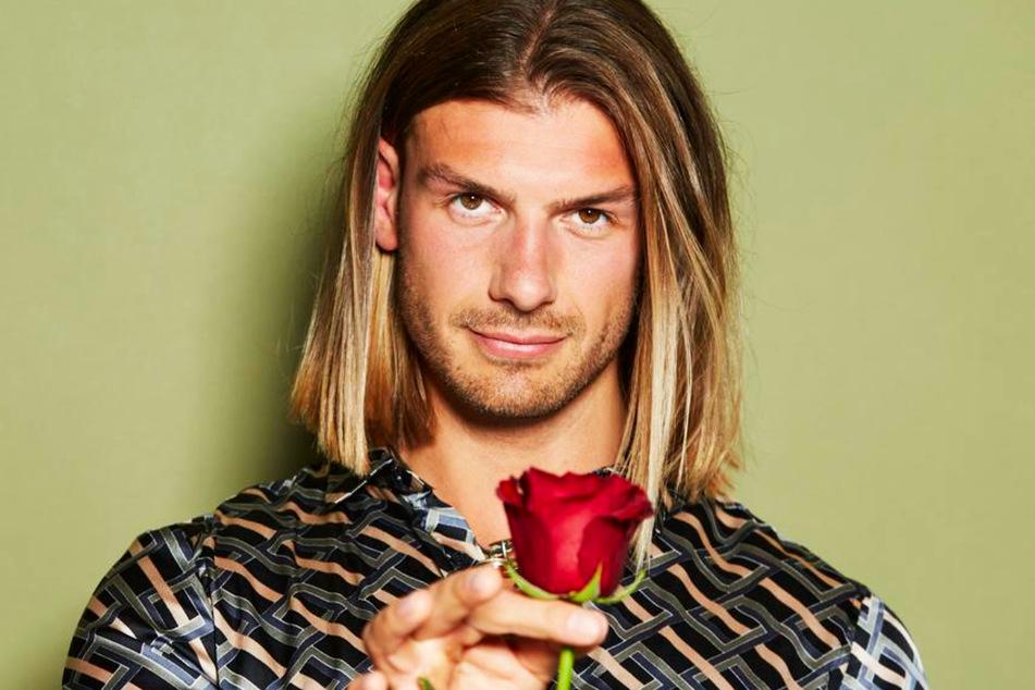 """Kevin Ullmann (27) kämpft in der achten Staffel um das Herz von """"Bachelorette"""" Maxime Herbord (26)."""