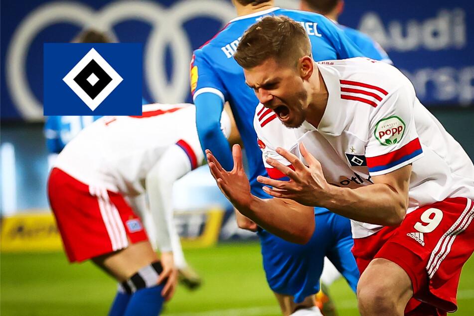 Katastrophale Chancenverwertung: HSV lässt gegen Holstein Kiel den Sieg liegen!