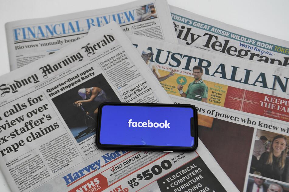 Nicht nur australische Nachrichtenseiten, auch Behörden, welche über das Coronavirus informieren, wurden gesperrt.
