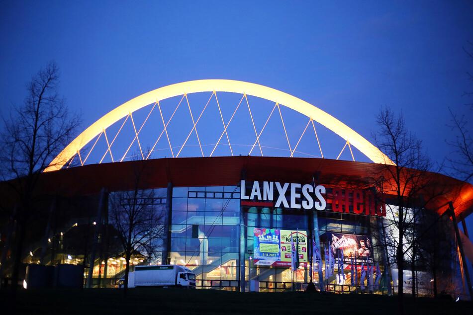 Die Kölner Lanxess-Arena.