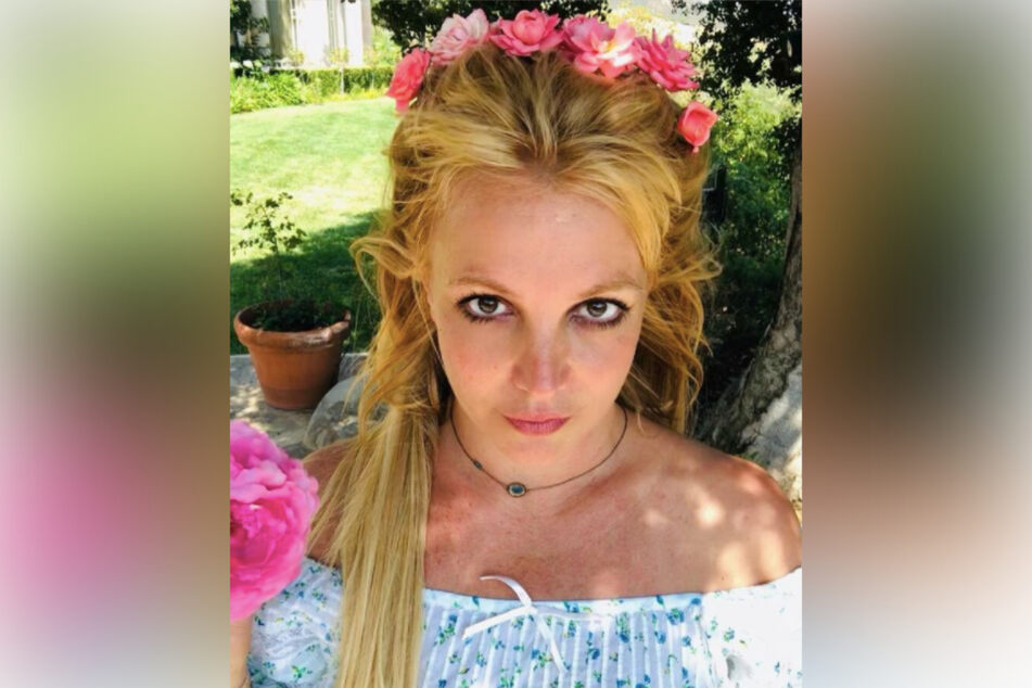 """Britney has posted this photo, with the caption """"Rose"""" or rose emojis, at least six times on her account in the last few months."""
