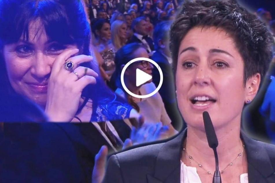 Die Rede dieser Journalistin rührt alle zu Tränen
