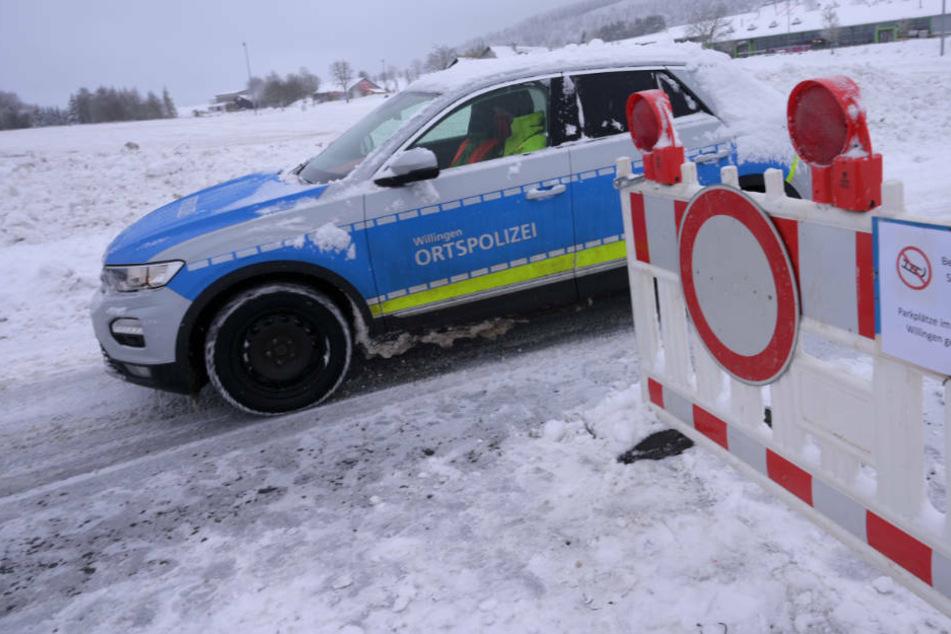 Im beliebten Skigebiet Willingen werden sämtliche Pisten und die dazugehörigen Parkplätze von Freitag bis einschließlich Sonntag gesperrt.