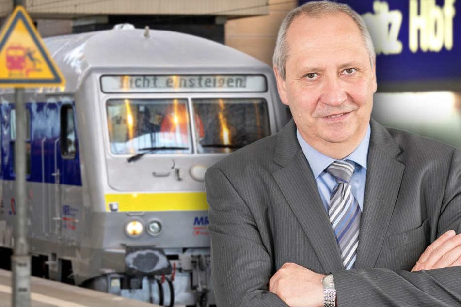 """Ausbau der Bahnstrecke Chemnitz-Leipzig: Unternehmer kritisieren """"Schneckentempo"""""""