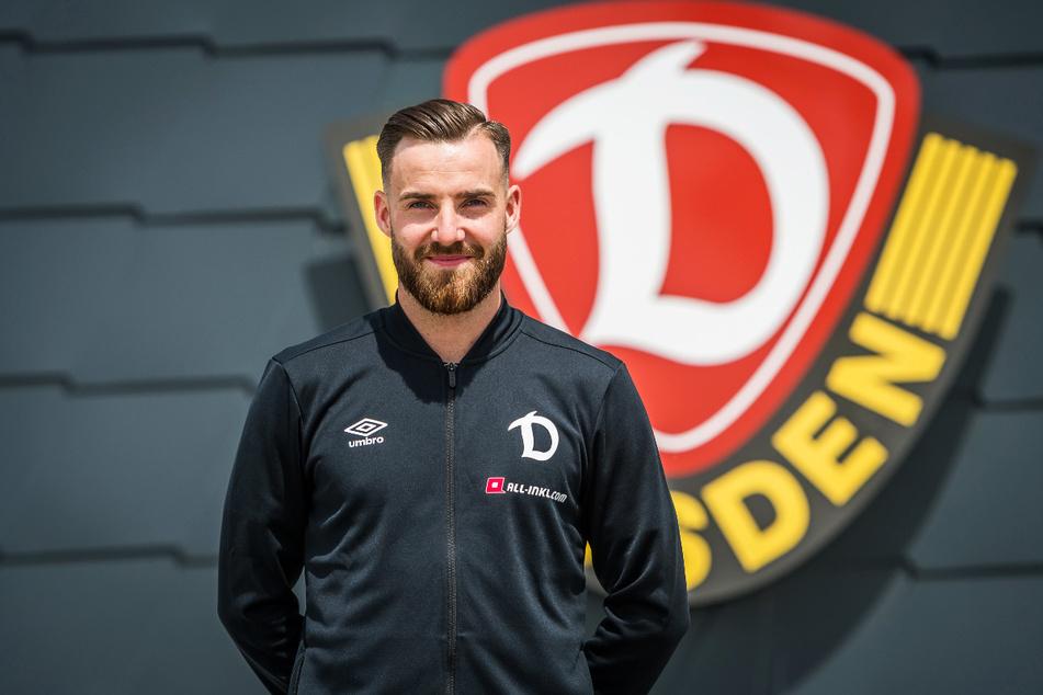 Morris Schröter (25) ist der erste Neuzugang von Dynamo Dresden für die kommende Zweitliga-Saison.
