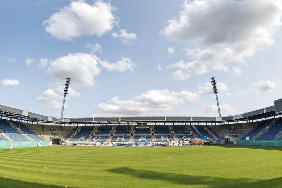 Das Ostseestadion in Rostock fasst normalerweise bis zu 30.000 Fans.