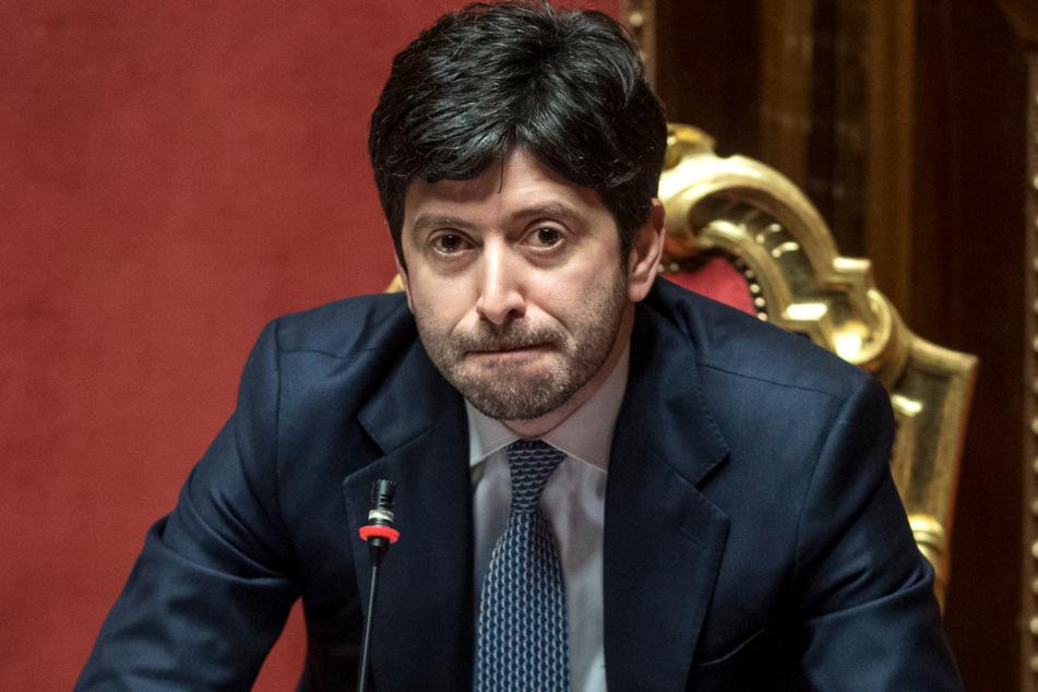 Italiens Gesundheitsminister Roberto Speranza.