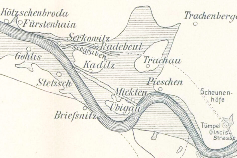 Dresden war 1845 weiträumig überschwemmt. Dennoch waren keine Todesopfer zu beklagen.