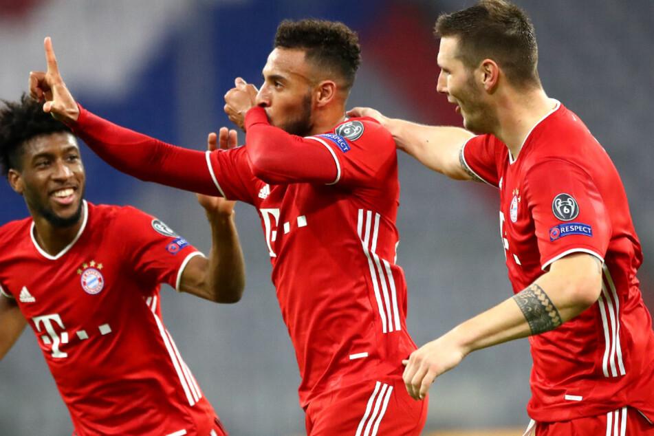 Corentin Tolisso (26, M.) vom FC Bayern München ist wieder fit. Ob es bei Niklas Süle (25, r.) für das Spiel reicht, ist hingegen noch unklar.