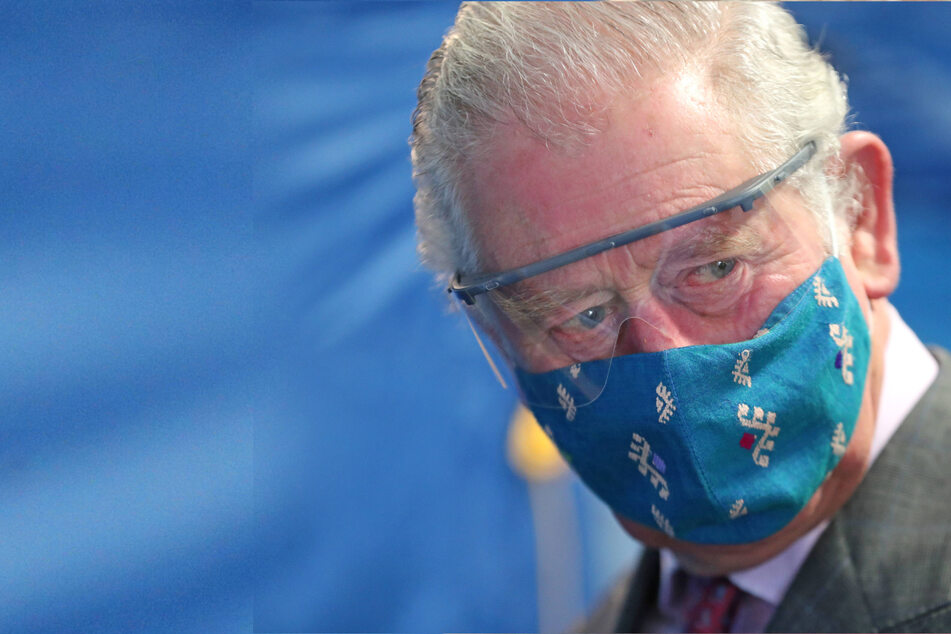 """Prince Charles thinks he's """"way down the list"""" when it comes to Covid vaccine"""