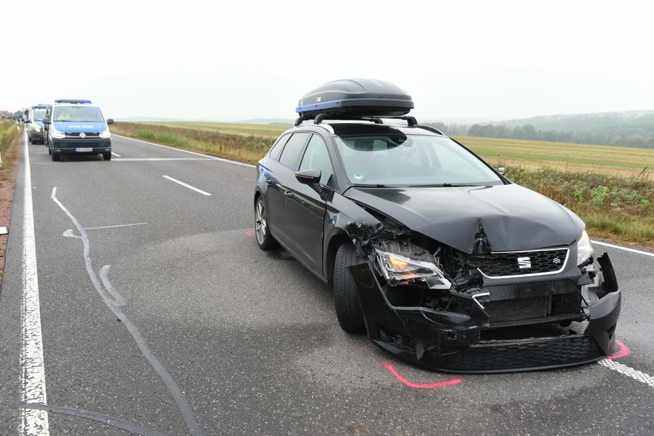 Auch ein Seat war am Crash beteiligt.