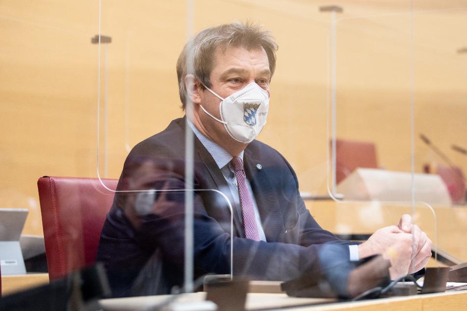Markus Söder (54, CSU) wird in einem Facebook-Post irreführenderweise unterstellt, er sei bereits gegen Corona geimpft worden.