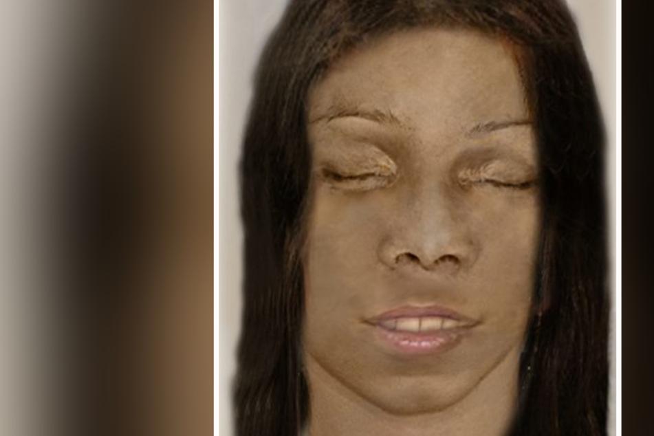 Das ist das Phantombild der toten Frau.