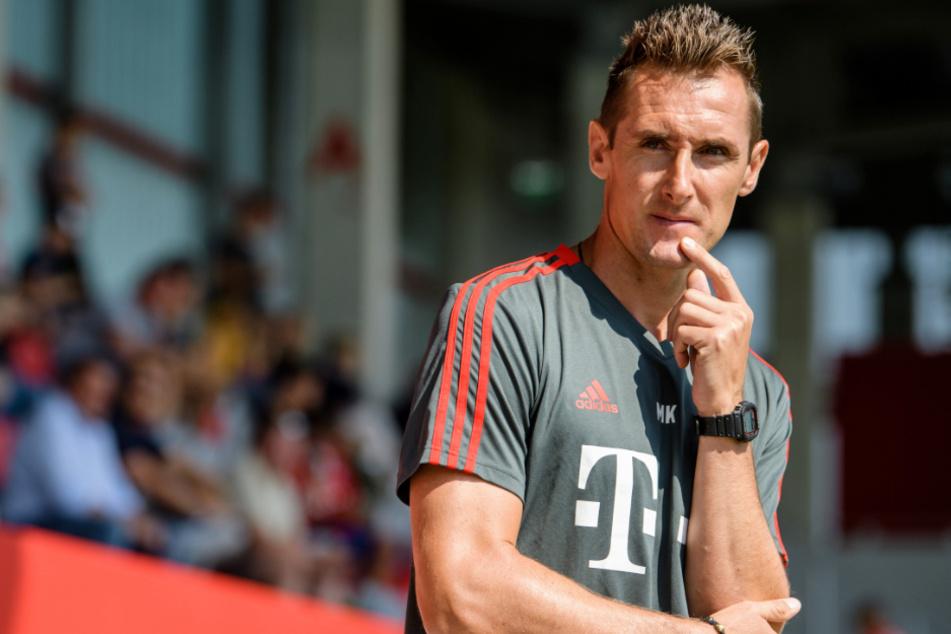 Wird Miroslav Klose beim FC Bayern München bald als Co-Trainer von Hansi Flick fungieren?