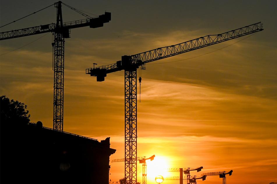 Rentner klettert aus kuriosem Grund auf Görlitzer Baukran