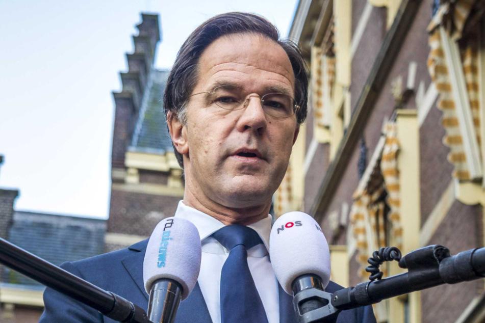 Hollands Ministerpräsident Mark Rutte.